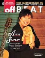 [ OffBeat April 2002 Cover ]